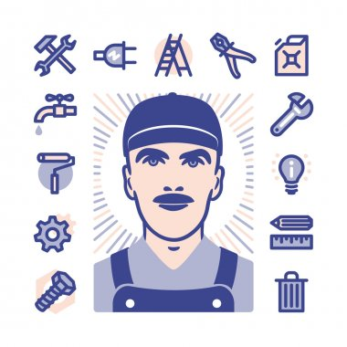 worker Icon set
