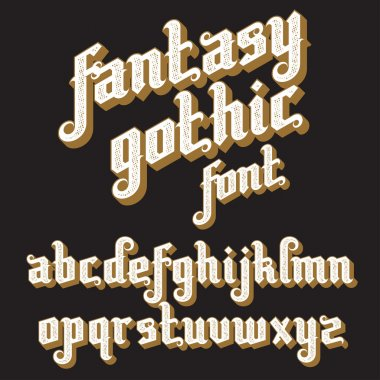 Retro Font set