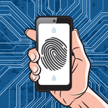 Smartphone fingerprint security
