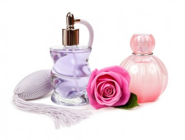 Cosmetics and flower