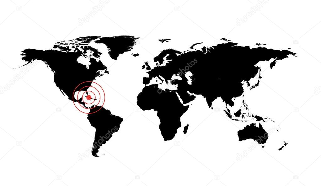 Dangerous occurrence in cube stock photo pashapixel 121932372 dangerous occurrence in cube world map illustration with red cirles accident sign photo by pashapixel gumiabroncs Image collections