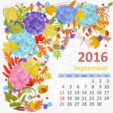 2016 new year calendar