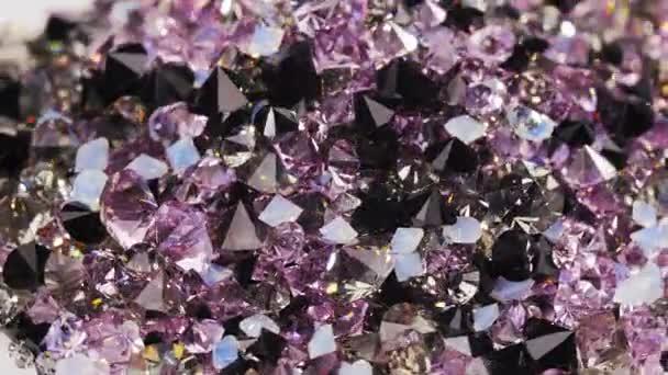 Mnoho pozadí kameny tmavě fialový kosočtverec, smyčky ready