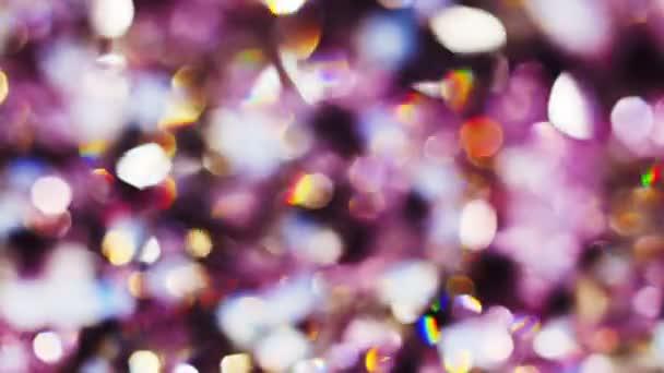 Abstraktní barvy pozadí bokeh kruhy ve fialové tóny