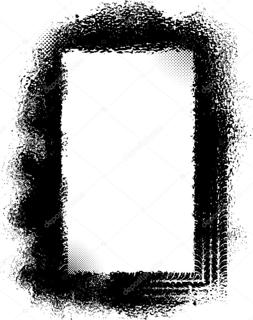 grunge frame with tire tracks stock vector antonshpak 65073077 rh depositphotos com Tire Tracks Vector Freepik Mud Tire Tracks Clip Art