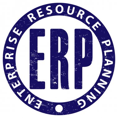ERP (enterprise resource planning) rubber stamp