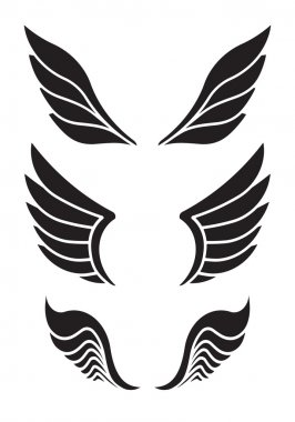 decorative wings for your design.