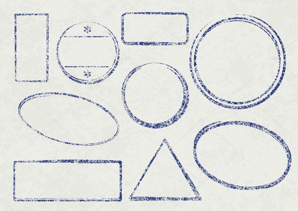 grunge templates for rubber stamps stock vector antonshpak 78693140