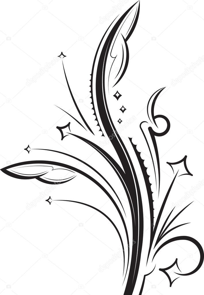 Imágenes Tatuajes De Ramas Con Flores Rama De Flores De Diseño O