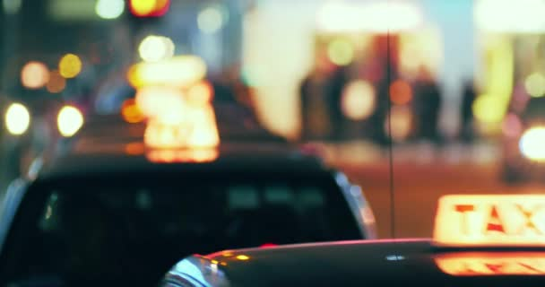 Dlouhá řada taxi taxi příchodu
