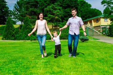 family - enjoying the life together