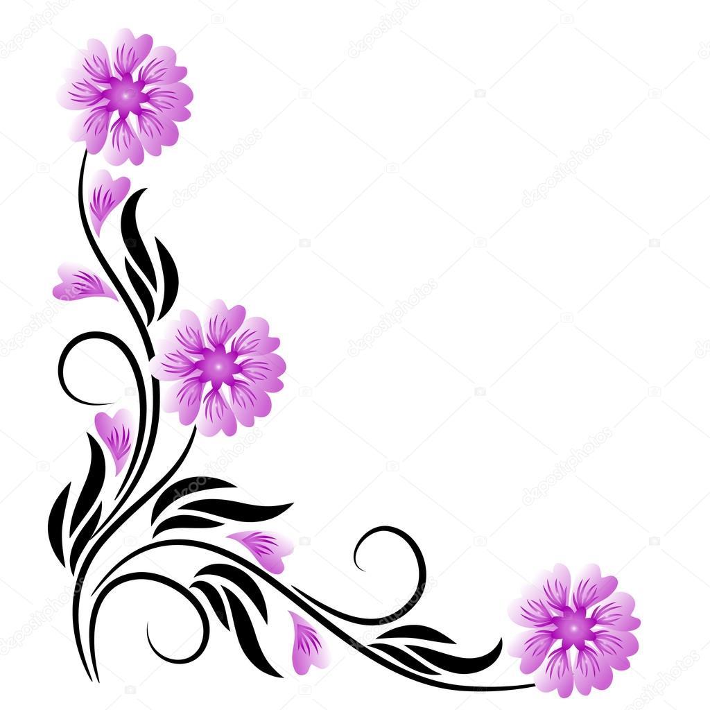 corner floral ornament stock vector c marisha 64570455 corner floral ornament stock vector c marisha 64570455