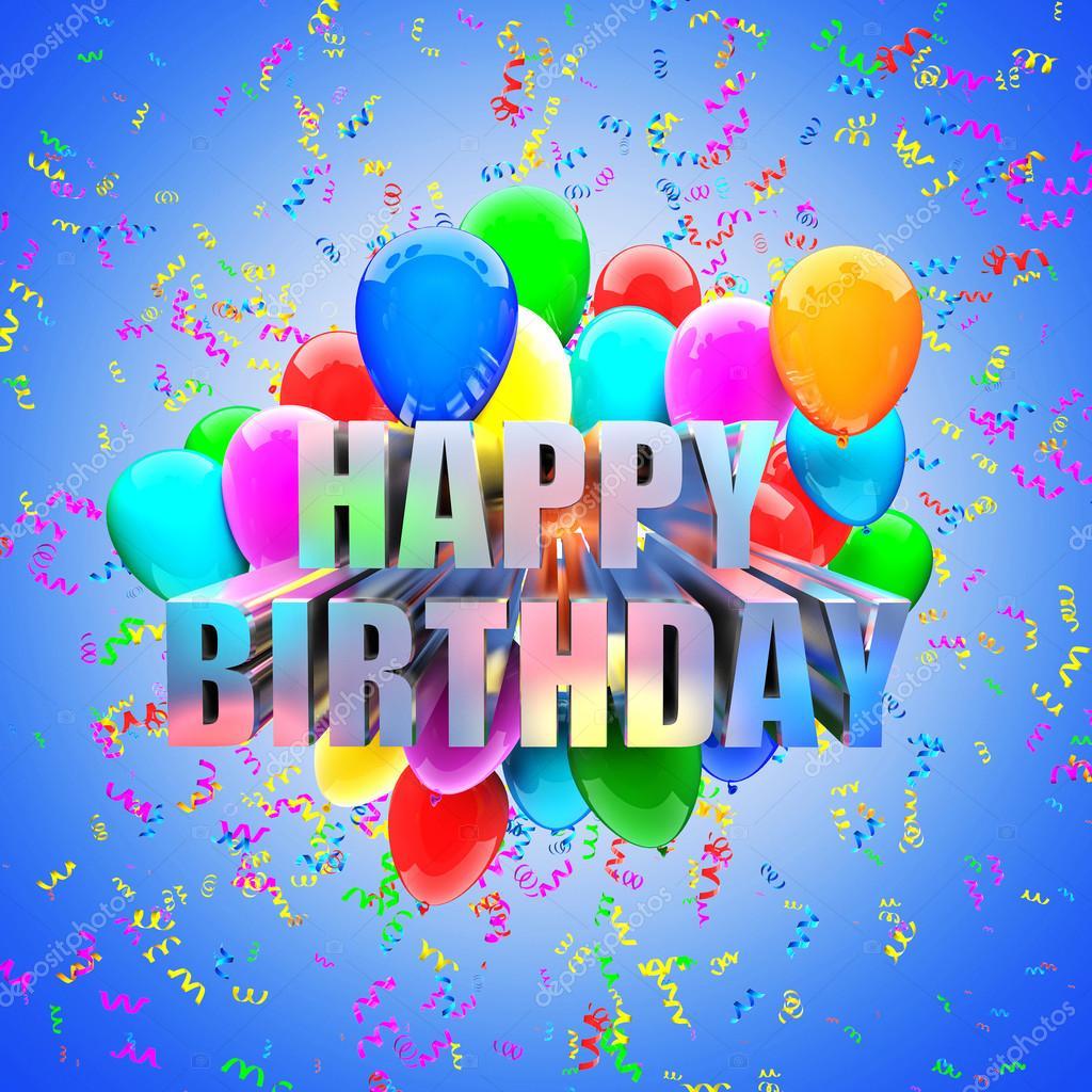 szülinapi lufis képek születésnapi lufik — Stock Fotó © jukai5 #63374753 szülinapi lufis képek