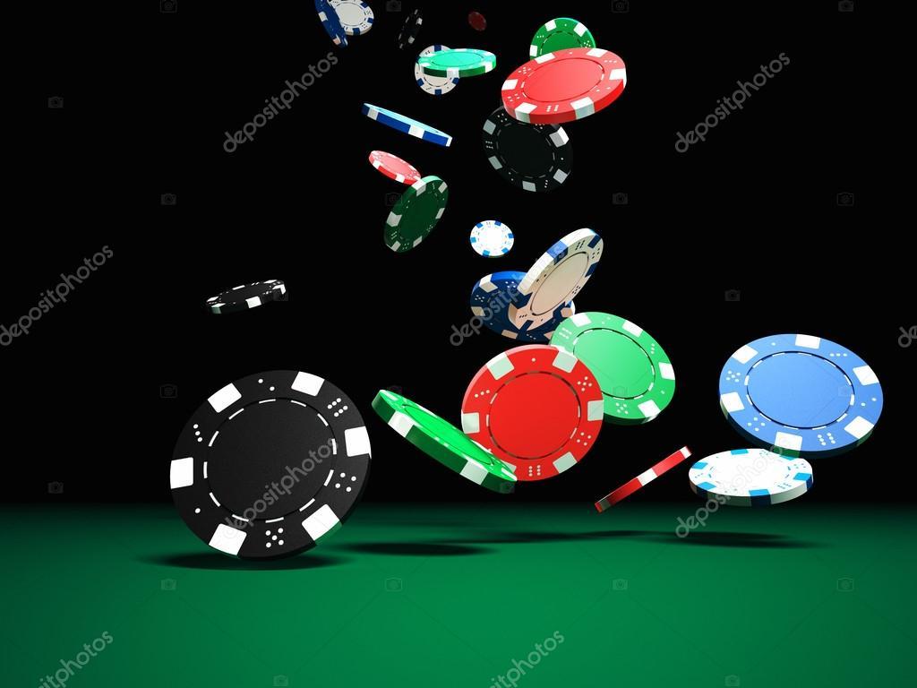 Fichas De Poker Fotografias De Stock Jukai5 70996593