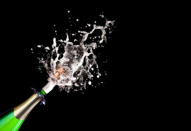 popping champagne