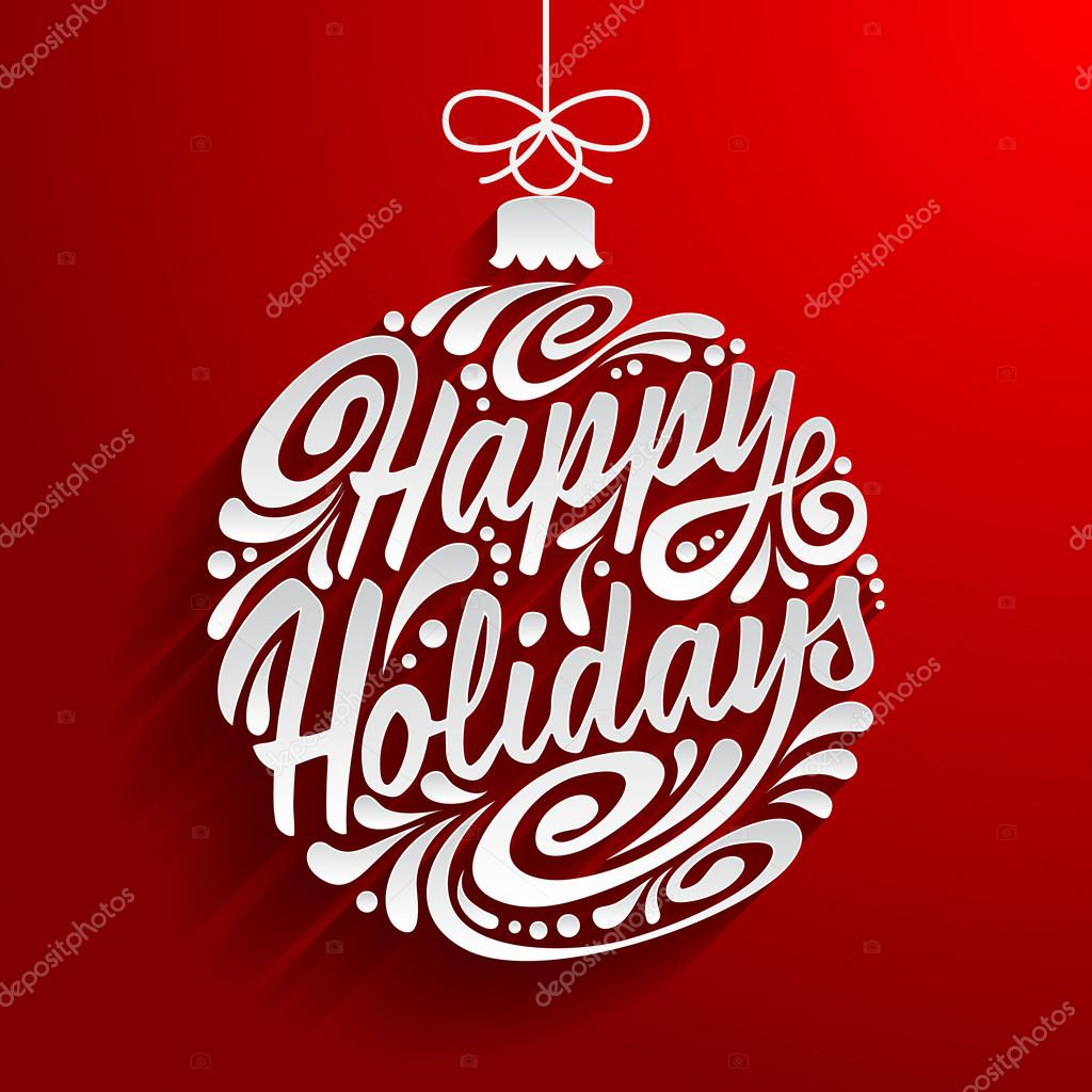 Happy holidays Stock Vectors Royalty Free Happy holidays