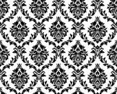 seamless pattern damascato di vettoriale