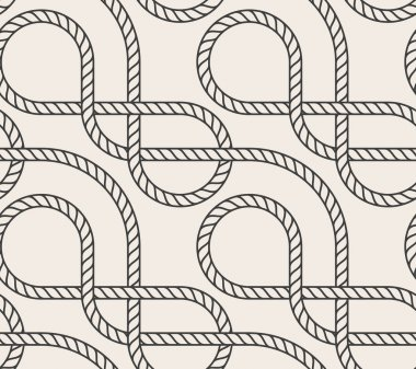 Vector abstract seamless background. Line pattern
