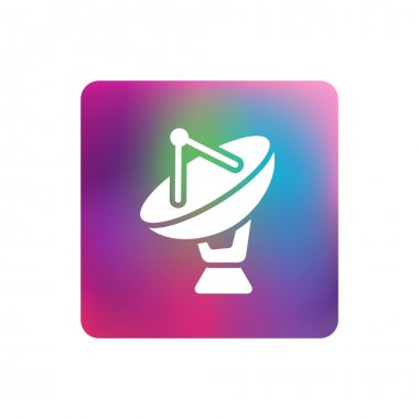 Pictogram of satelite icon