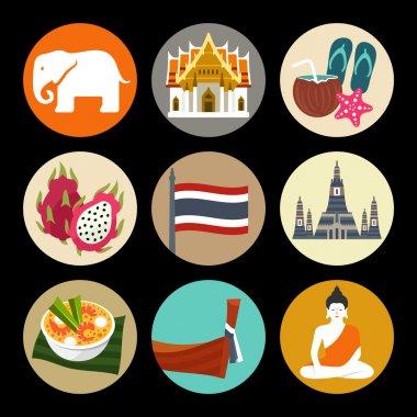 Thailand icon set