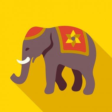 Indian elephant icon