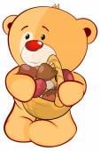 Plyšová hračka medvěd