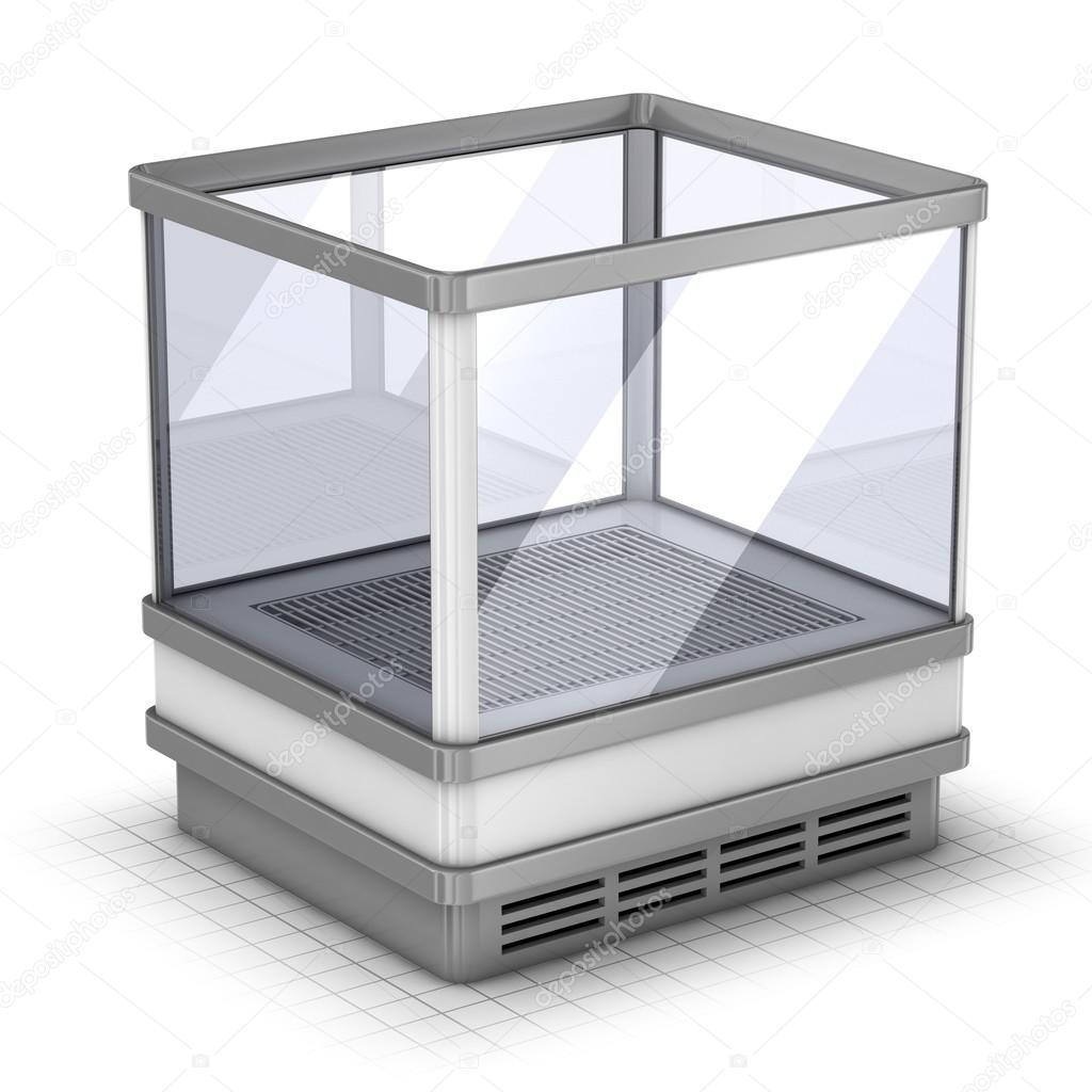 Kleiner Markt-Kühlschrank — Stockfoto © wir0man #76885285