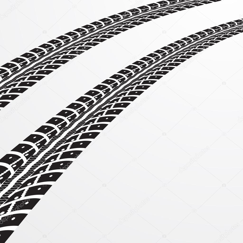 tire tracks vector � stock vector 169 mpavlov 109376232