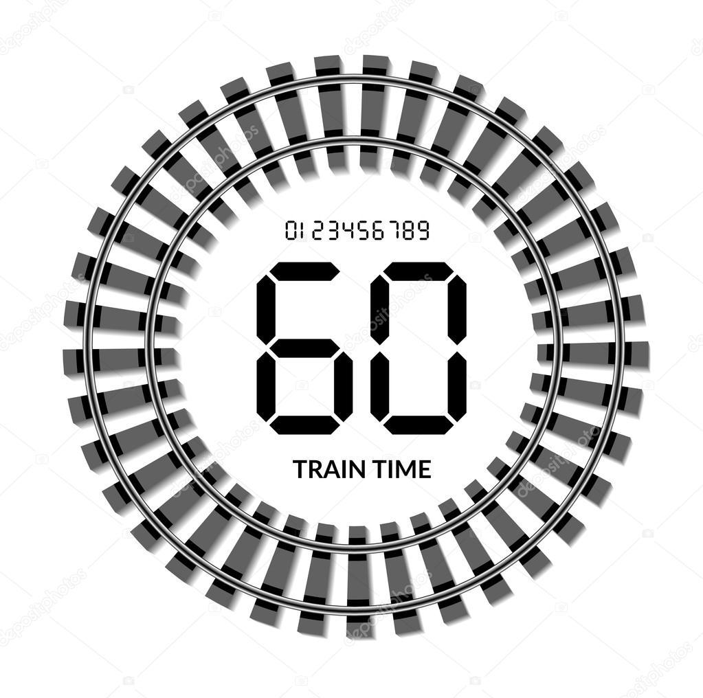Mpavlov 122810918 - Wanduhr eisenbahn ...