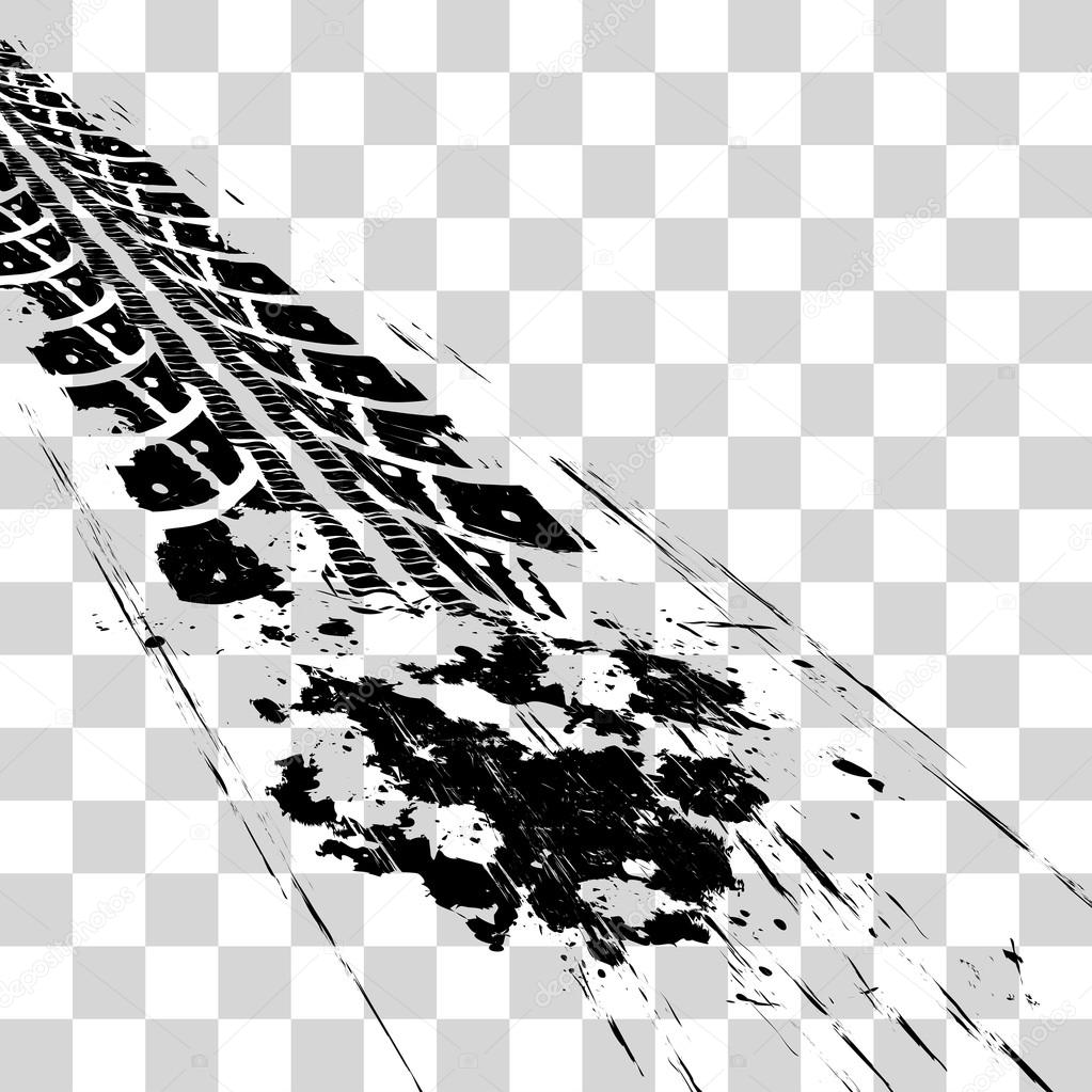 vetor de rastros de pneu vetores de stock  u00a9 mpavlov tire track clipart free tractor tire track clipart