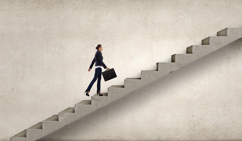Куда ведёт лестница?