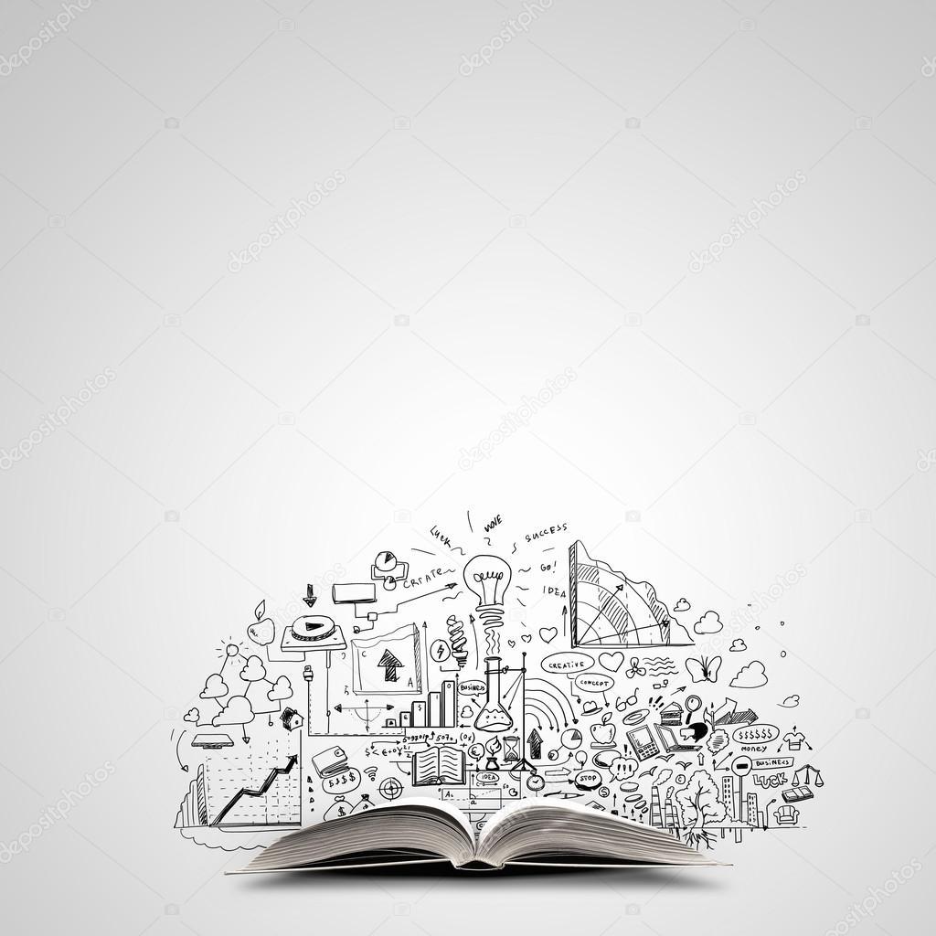 Bedrijfsplan. Concept afbeelding — Stockfoto © SergeyNivens #87060606