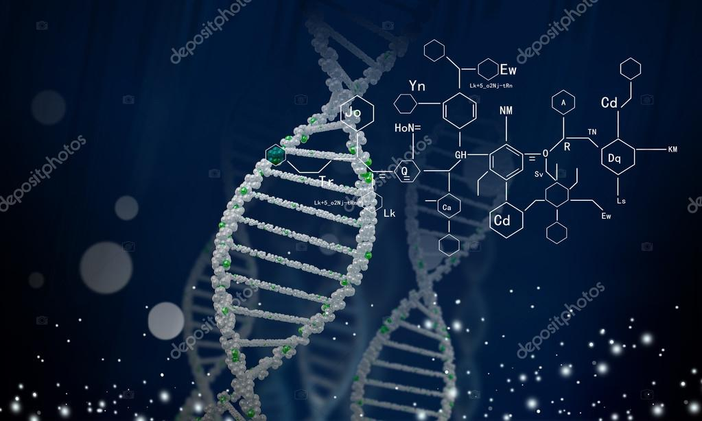 DNA molekülü. Kavram görüntü — stok fotoğraf
