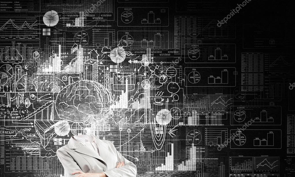 Bedrijfsplan. Concept afbeelding — Stockfoto © SergeyNivens #87070718