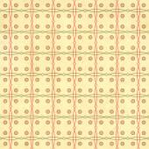 Bezešvá textura starého papíru s retro geometrické průběh