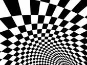 Fotografia Bandiera a scacchi astratta