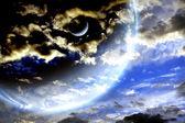 Bouře oblohy a cizí planety