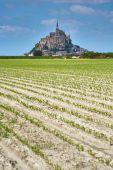 Mont saint-michel, Normandia, Francia