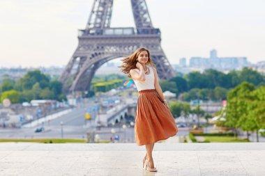 Beautiful young Parisian woman