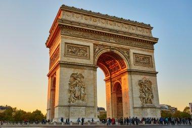 Scenic view of the Arch of Triumph