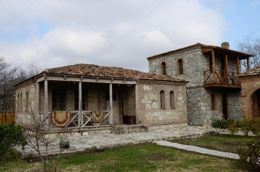traditional georgian architecture in mtskheta historical capital of