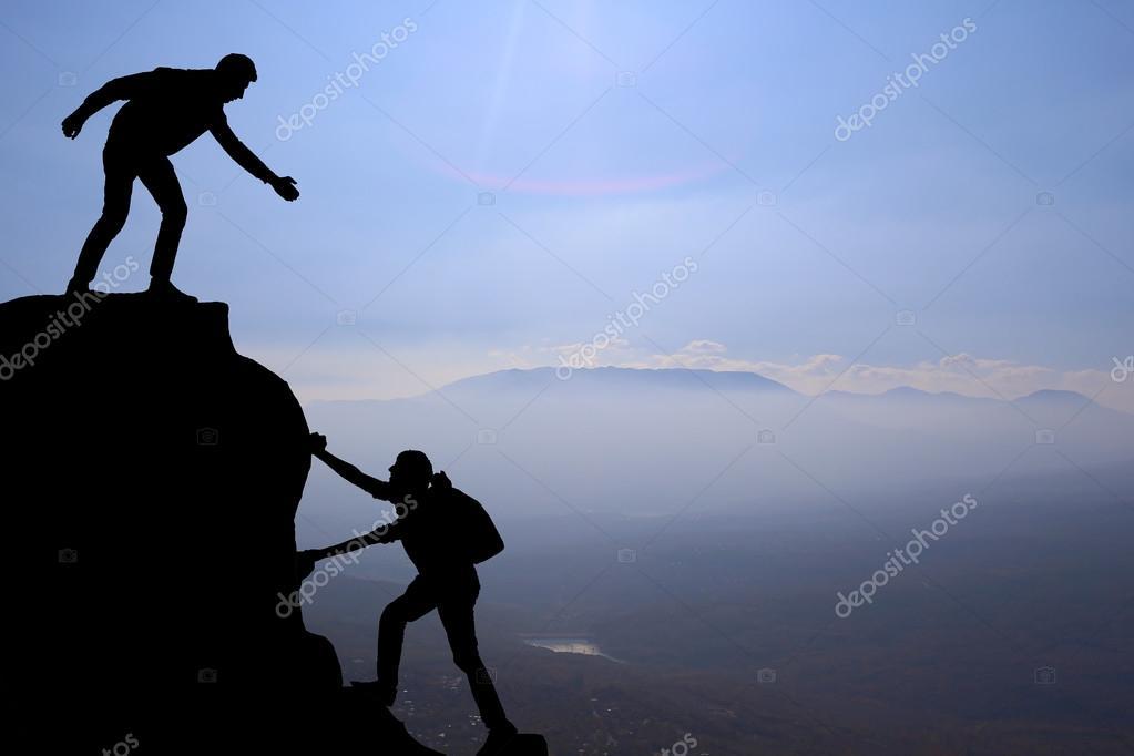 hiking silhouette desktop wallpaper - photo #48