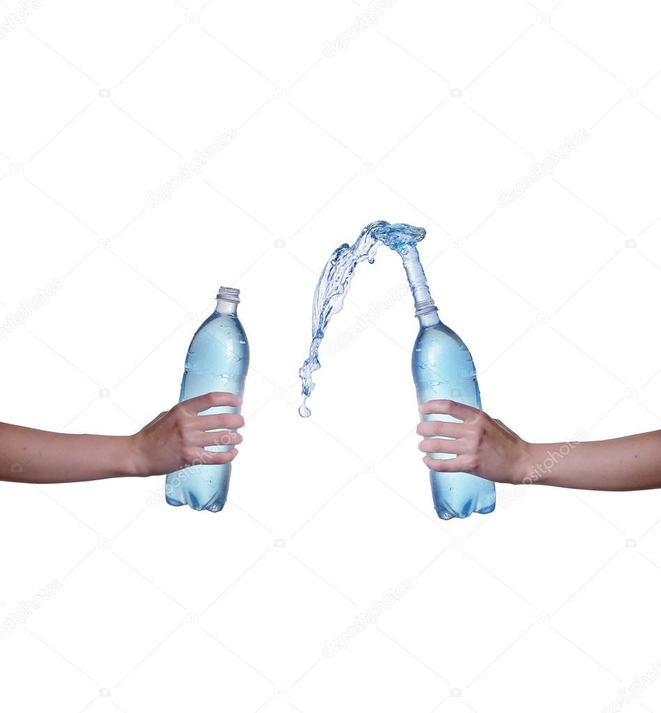 Spruzzare bottiglie dacqua