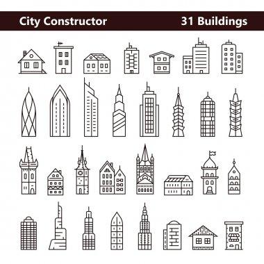 Cityscape constructor