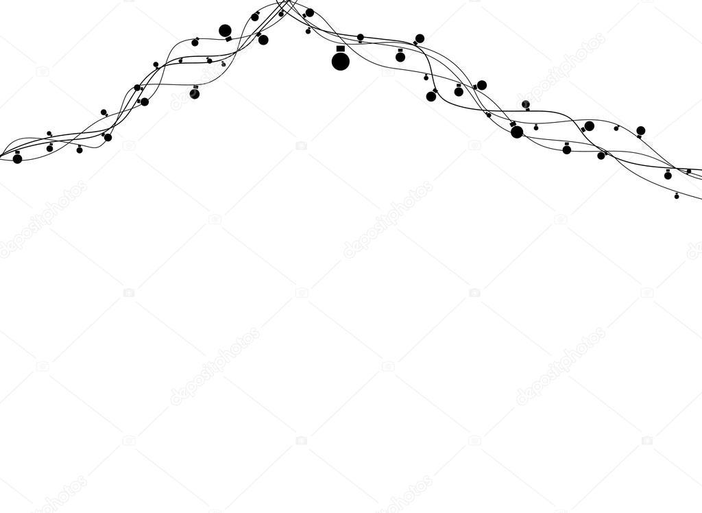 guirlande lumineuse absract image vectorielle djemphoto 63207901. Black Bedroom Furniture Sets. Home Design Ideas