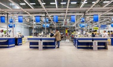 Interior of the IKEA Samara Store