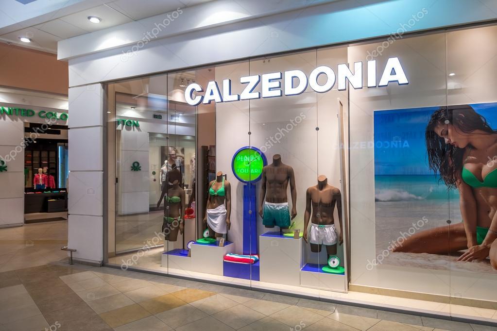 vitrine de magasin de calzedonia en family centre commercial parc hous photo ditoriale. Black Bedroom Furniture Sets. Home Design Ideas