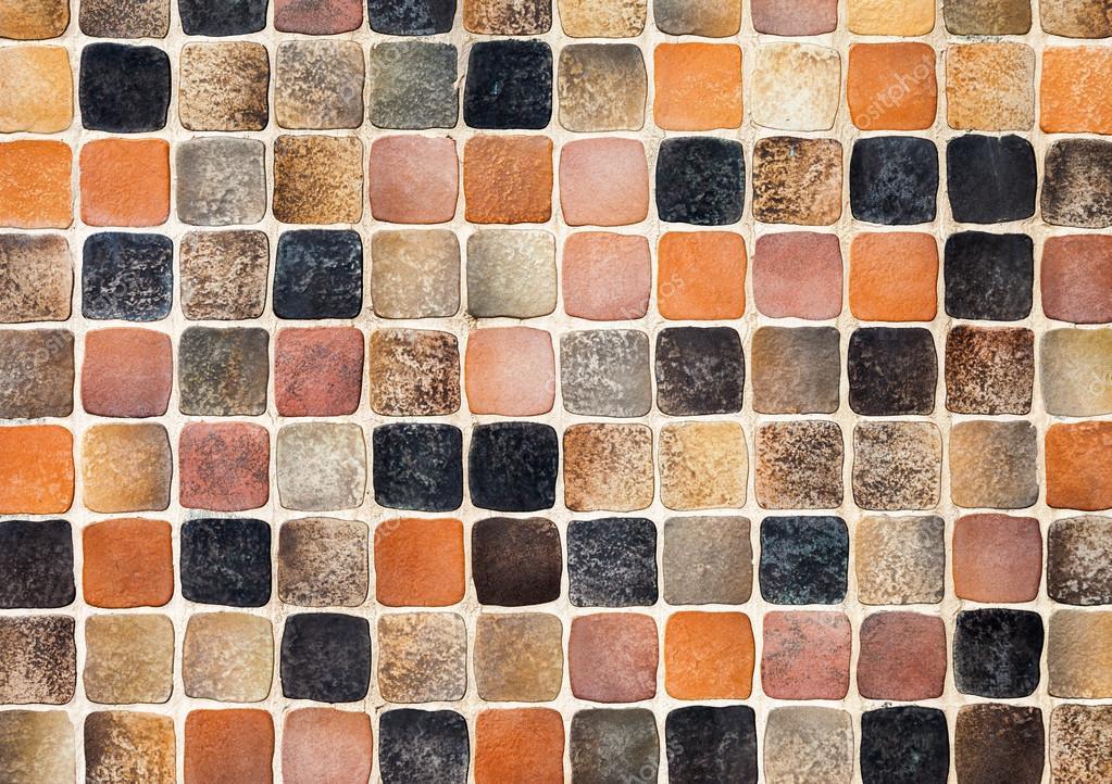 Piastrelle colorate in vetro ceramica mosaico composizione modello