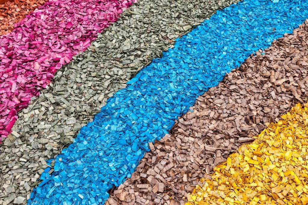 Kolorowe Zrębki Jako Twórczy Tle Zdjęcie Stockowe