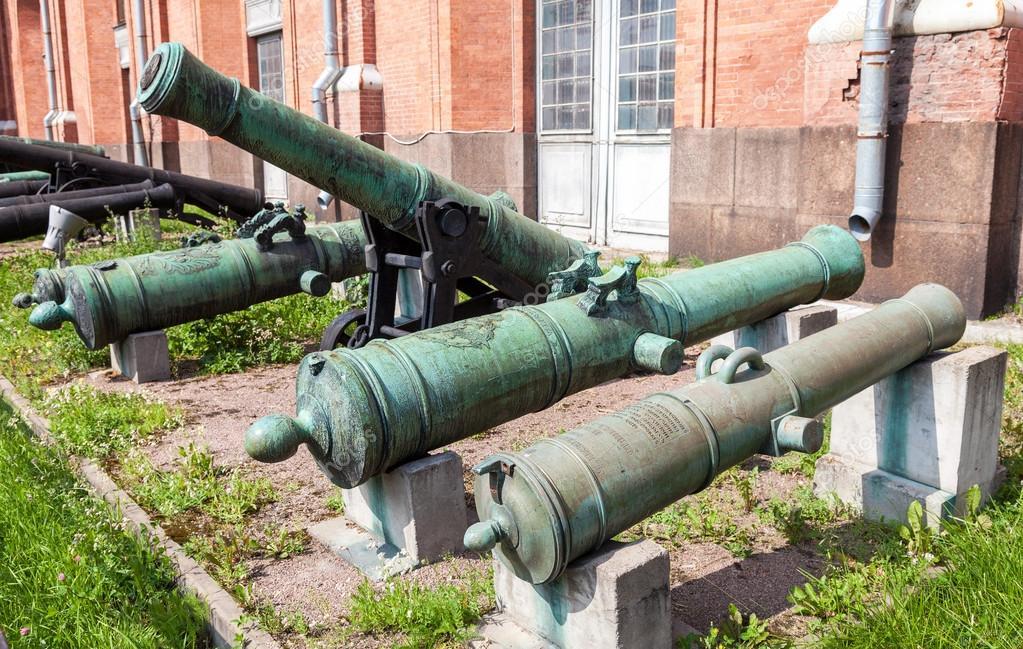 бронзовые пушки фото виды